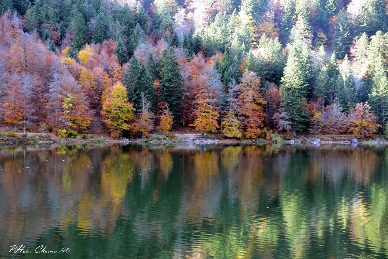Lac des corbeaux en octobre 2017
