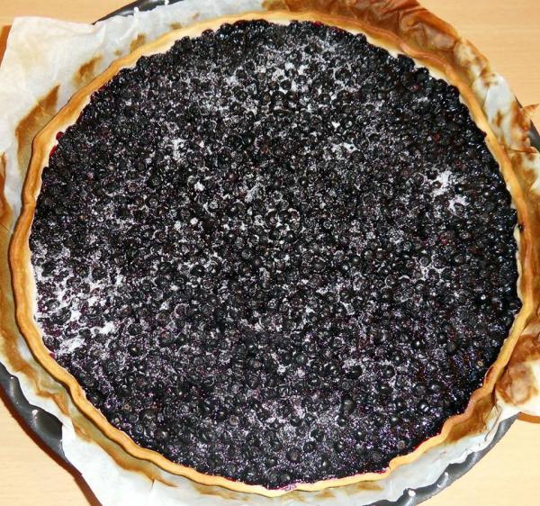 La tarte aux brimbelles