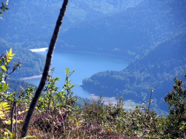 Le lac de Kruth-Wildenstein.