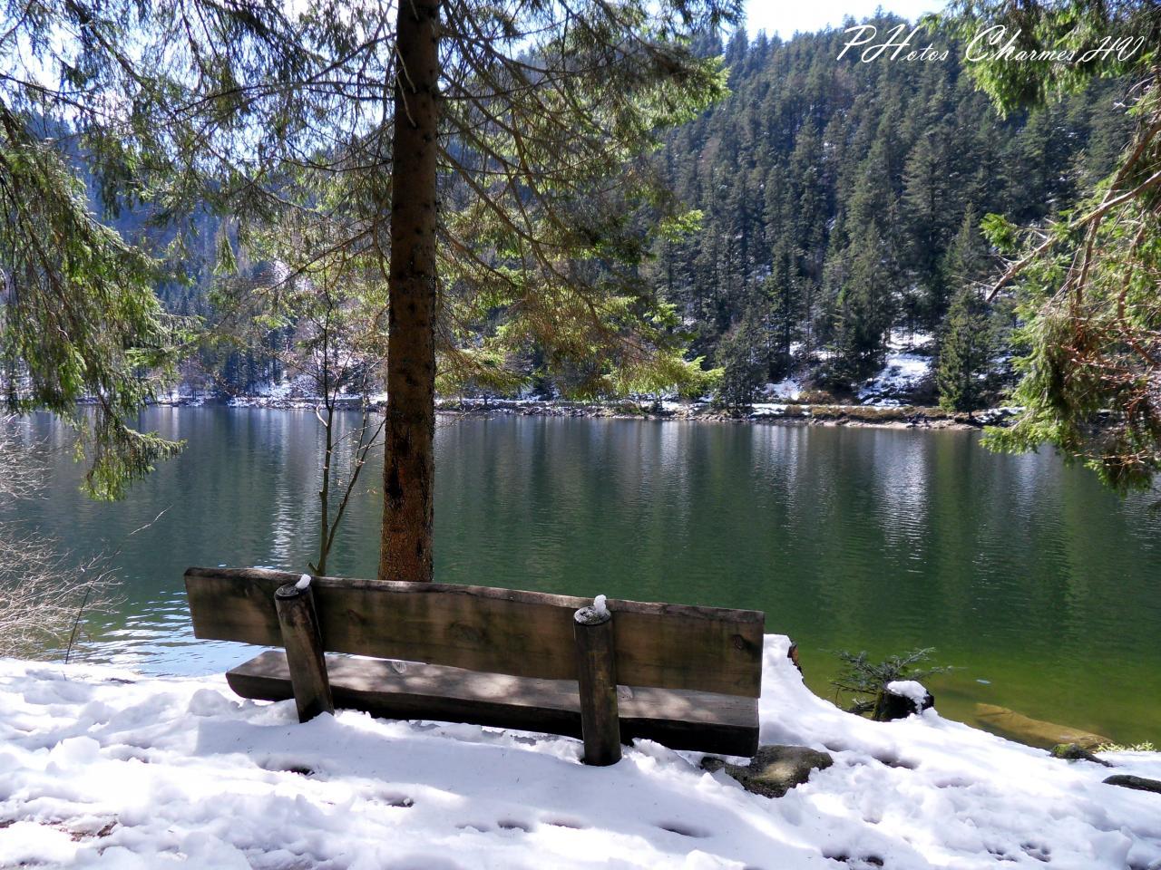 En route vers le printemps au lac des corbeaux