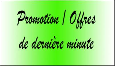 Promotion offres